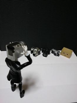 カメラ男とカメラ