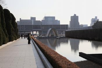 広島平和公園平和の池