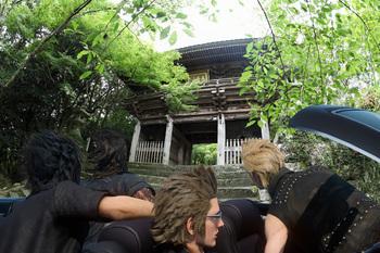 竹林寺!と四人