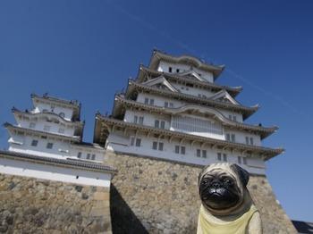 姫路城とくんぺい2