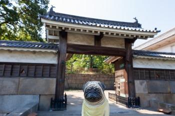 丸亀城二の門