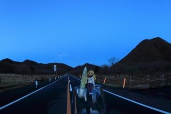 榛名山とマミさん