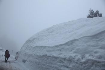五箇山の豪雪